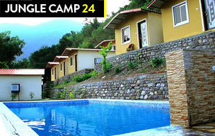 Jungle Camp 24 - In Shivpuri (with Swimming Pool)