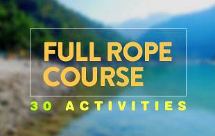 Full Rope Course in Rishikesh